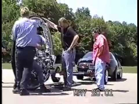 McLean V-8 Monocycle (Crash 2:55)