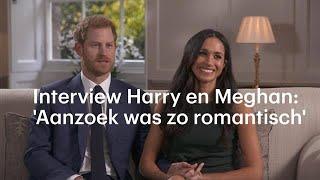 Interview prins Harry en Meghan Markle: 'Het aanzoek was zo romantisch' - RTL NIEUWS