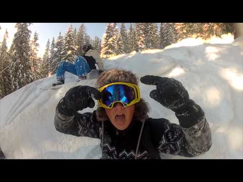 GOPRO HD HERO 2-Snowboarding- BEST OF 2012!!! Part 1