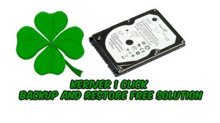 Keriver 1 Click Backup and Restore Solution for FREE
