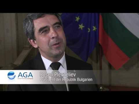26. EuropaAbend des AGA mit Rosen Plevneliev