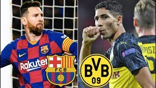Barcelona vs Borussia Dortmund, Champions League, Group Stage 2019/20 - MATCH PREVIEW