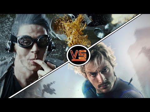 GeekTyrant VS: Avengers Quicksilver Vs X-Men Quicksilver