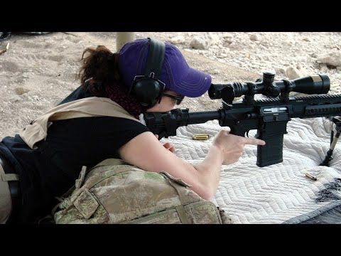 Long-Range Precision Rifle Training at FTW Ranch with Ruger SR-762 Rifles & Burris XTR-II Scopes