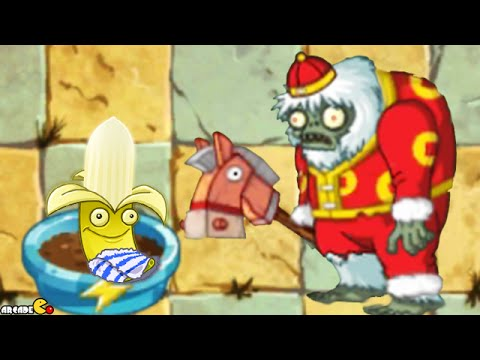 Plants Vs Zombies 2: Treasure Yeti Egypt Zomboss Daily Challenge!
