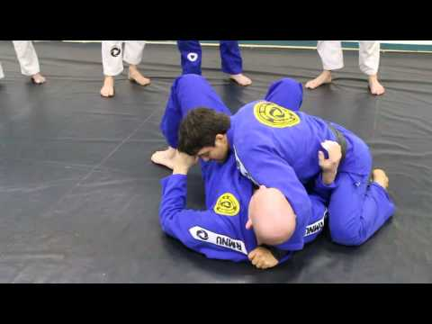 Knee on belly to arm lock Image 1