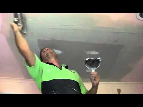 Water Damage Repair to Plaster Ceiling Part Two