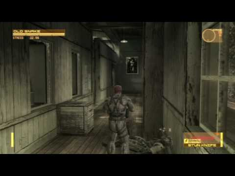 Metal Gear Solid 4 - Messing Around [HD]