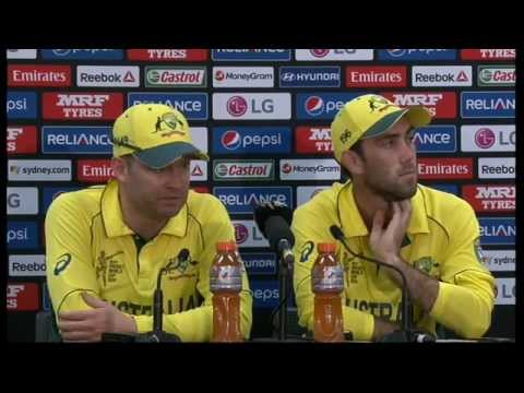 Live Post-Match Press Conference, Australia v Sri Lanka