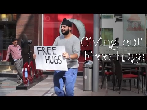 Free Hugs In India | Sahil Bedi video