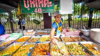 $1.29 Buffet - ALL YOU CAN EAT Thai Street Food in Bangkok, Thailand!