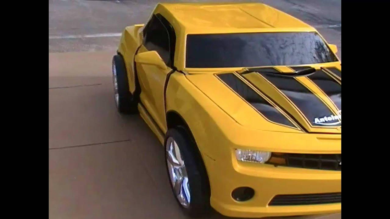 Custom Camaro Power Wheel With A Twist Youtube
