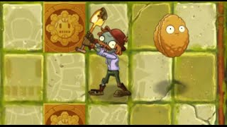 Plants vs Zombies 2 - Lost City Day 4 - Excavator Zombie
