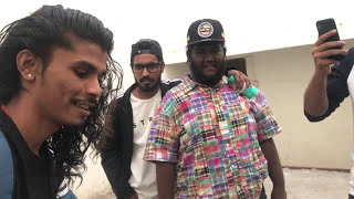 Ranveer Singh with Underground Rappers Mumbai cypher part 1