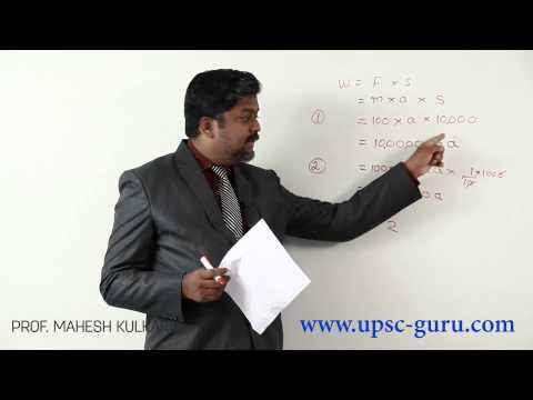 UPSC examinations: Physics Basic paper 1 solutions