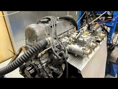 Datsun L20B engine dyno tuning