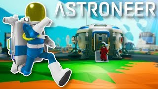 SPACE COLONIZATION SURVIVAL! - Astroneer Multiplayer Gameplay - 1.0 Release