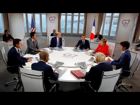 Trump stands firm on China trade war as G7 talks commence