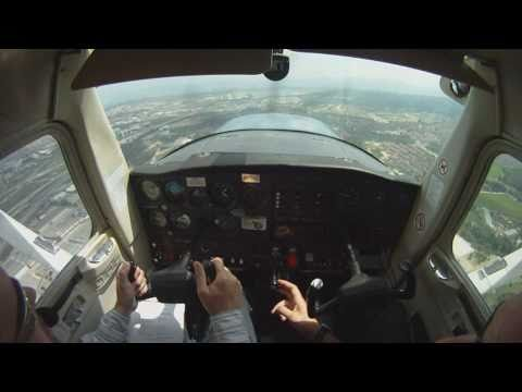 Engine Failure Landing Practice in a Cessna 152