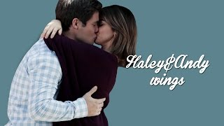 haley and andy story | wings  [5x07 - 7x22]