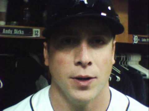 Andy Dirks Tigers Outfielder Talks about the roadtrip 5   06   2012