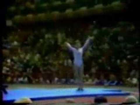 Nadia Comaneci 1976 Olympics AA BB Perfect 10.0