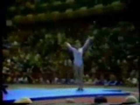 Nadia Comaneci 1976 Olympics AA BB Perfect 10.0 Video