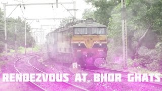 Rendezvous With WCAM 2P At Bhor Ghats [Indian Railways]