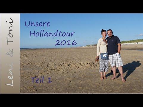 Leni & Toni on tour: mit dem Wohnmobil in Holland | Teil 1 | August 2016