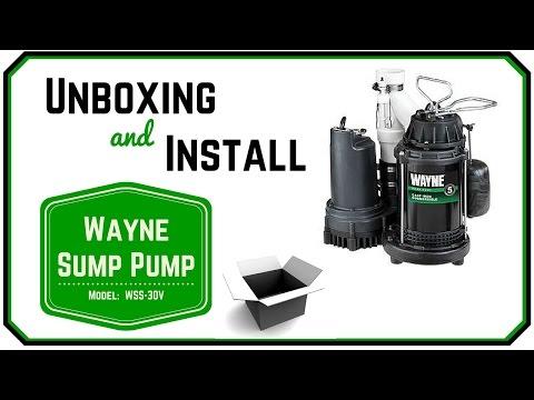 Sump Pump Review Wayne WSS30V
