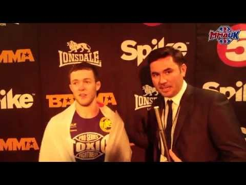 BAMMA 22 Post-Fight Interview: Alan Philpot Talks To MMA UK's Bryan Lacey After His Win In Dublin