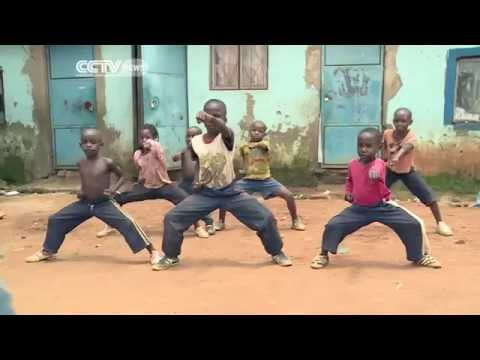 Uganda's Kung Fu  Children TV Stars