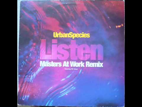 urban species (ft mc solaar) - listen (just listen) - louie's tribal mix
