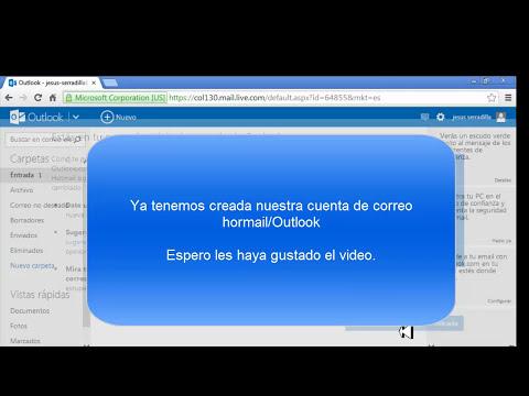 Como crear una cuenta de correo electronico Hotmail 2014. MUY FACIL!!