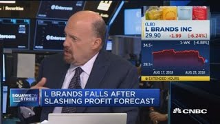 L Brands' CEO is behind the times, says Jim Cramer