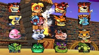 Crash Nitro Kart - All Characters