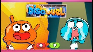 The Amazing World of Gumball: Disc Duel | Full Game | Darwin Watterson Wins | Cartoon Network