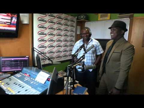 Tanzanian superstar AY visits Radio Jambo studios (Video)