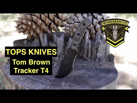 TOPS Knives Tom Brown Tracker T4