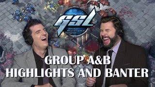 Tasteless and Artosis - GSL 2018 Season 3 Code S RO16 Group A&B - Highlights and Banter