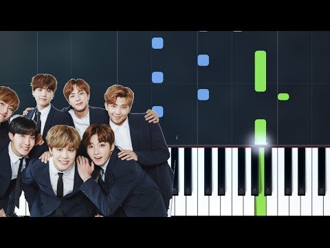 """BTS (방탄소년단) - """"Epiphany""""  Piano Tutorial - Chords - How To Play - Cover"""