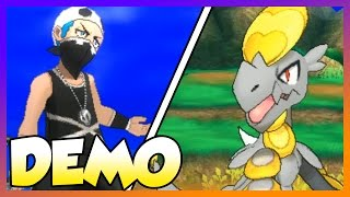 BEST POKEMON GAME EVER?! Pokemon Sun and Moon Demo OP