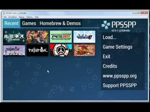 PSP Emulator PPSSPP Review - PC and Android [HD]