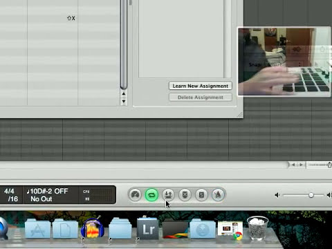 Control Logic Pro 9 Using MIDI Controller