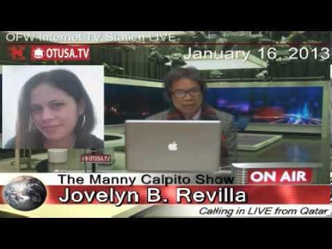 OFW BESO-BESO with Jovelyn Bayubay Revilla_ Episode 8_ 01/16/13 _ The Manny Calpito Show