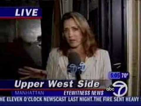 WABC-TV Fire Coverage Part 1 of 2
