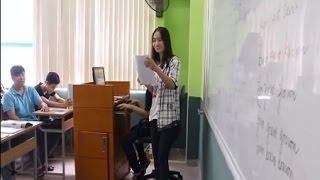 Học trò làm DJ, cô giáo đọc rap giảng bài