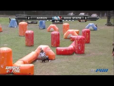 2013 NCPA College Paintball Champs Ocho-Finals - University of Akron Vs. Ohio State