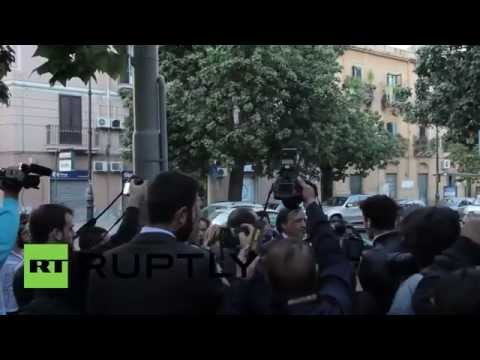 Italy: Aid worker killed by U.S. drone strike mourned in Palermo