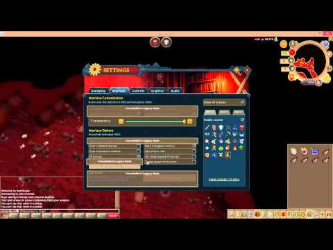Runescape 2014 – AFK 500-550k-Magic and/or Defense xp per hour – Abyss
